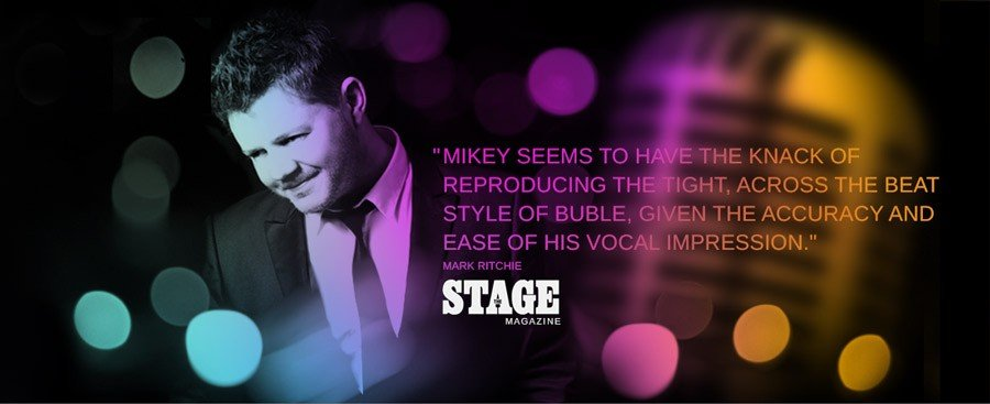Swing singer mikey
